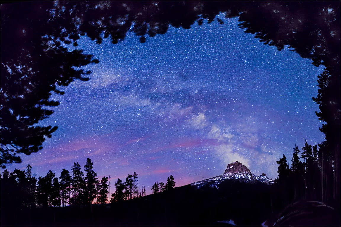 Chief Mountain Milky Way